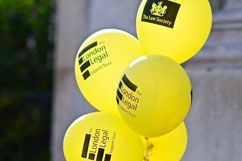 London Legal Walk 2018 balloons